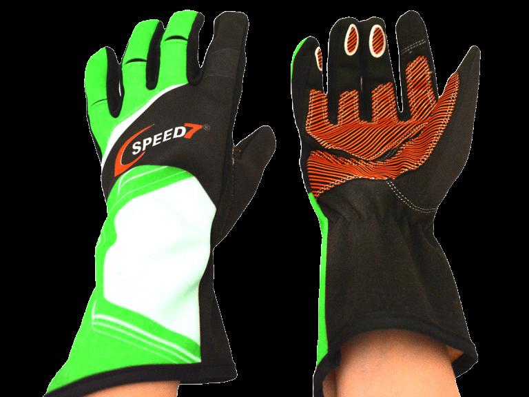 Speed7 Karthandschuh Pro grün